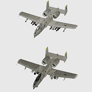 """费尔柴尔德A-10""""雷电Ⅱ""""攻击机-1103F58"""
