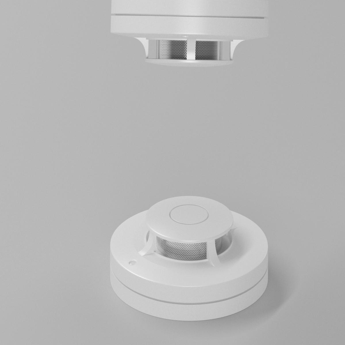 消防烟感器3D模型-2001X2