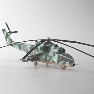 米-24A直升飞机-1103JZ1