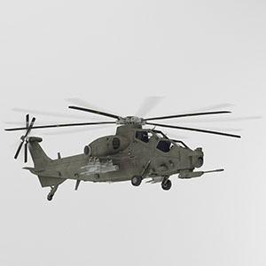 武直-10武装直升机-1105JZ2