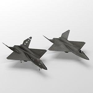 黑寡妇YF-23战斗机-1103F5