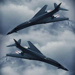 战略轰炸机B-1B轰炸机-1105F7