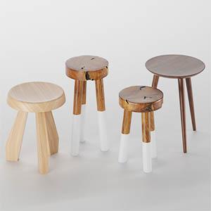 木凳子3D模型-0103D2