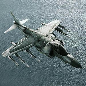 AV-8B Hrier II PLUS- 鹞 II 舰载攻击机-1103F8