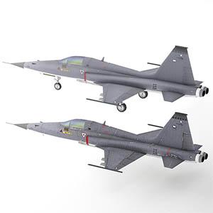 """F-5E""""虎2Tiger II""""式轻战斗机-1103F9"""