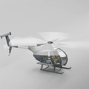 H-6小鸟直升机-1105JZ5