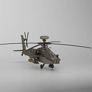 """AH-64D""""长弓阿帕奇""""武装直升机-1105JZ6"""