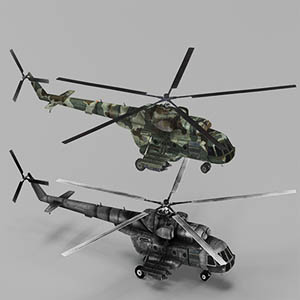 Mi17-米-17直升机-1105JZ7