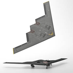 B-2 Spirit 轰炸机-1103F14