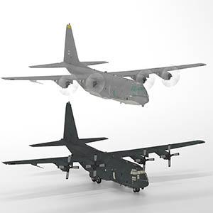 AC-130U Spooky 幽灵攻击机-1103F15
