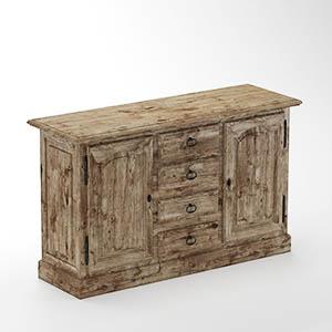 柜子抽屉柜3D模型-0109G1