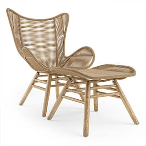 躺椅3D椅子模型-010404Y2