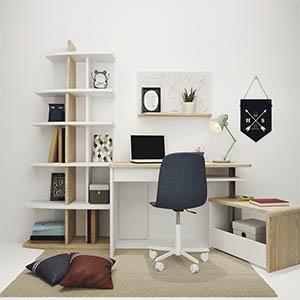 儿童房桌椅组合3D模型-1403E2