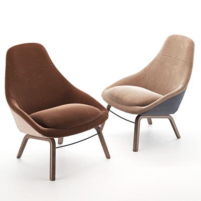 休闲椅子3D模型-010403Y13