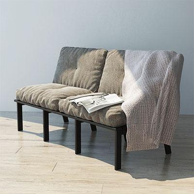 双人沙发3D模型-010202S4