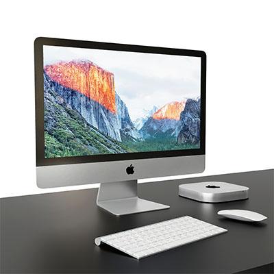 苹果MINI电脑3D模型组合-1901D2
