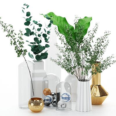 花瓶摆设3D模型-1008F11
