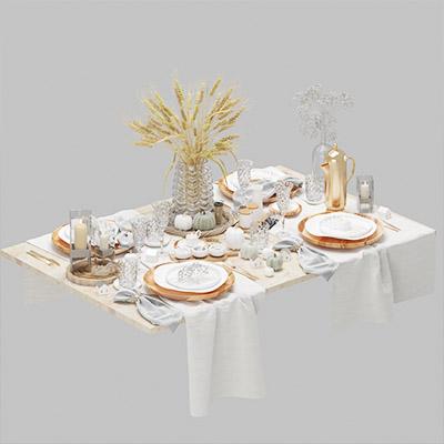 餐具厨房用品3D模型-0410C4