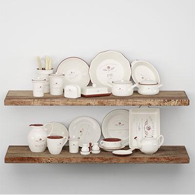 餐具厨房用品3D模型-0410C2