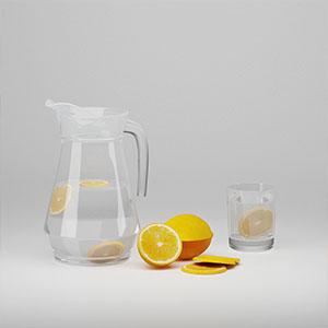 柠檬水3D模型-0404S2