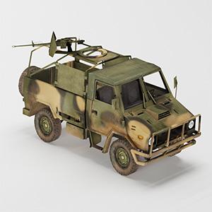 陆军车辆简模3D模型-1110C1