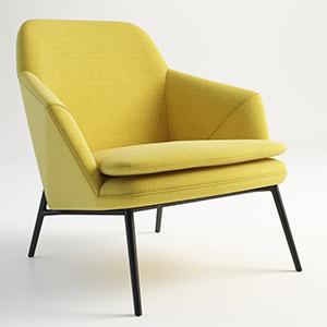 休闲椅3D模型-010403Y19