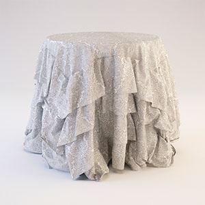 餐桌布3D模型-0106Z11