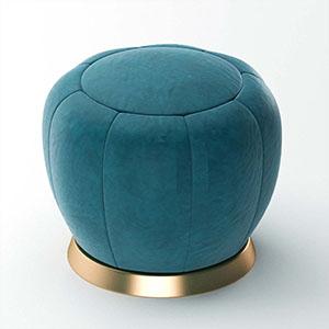 沙发凳3D模型-0103D6