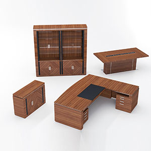 家具桌子组合3D模型-0110G1