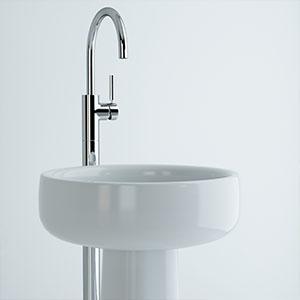 洗手盆3D模型-0501P1