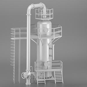 工厂罐体设备3D模型-2105D1