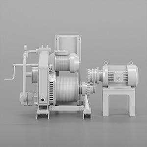 电机3D模型-2102D8