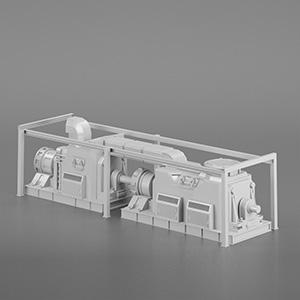 工厂电机组设备3D模型-2102D11