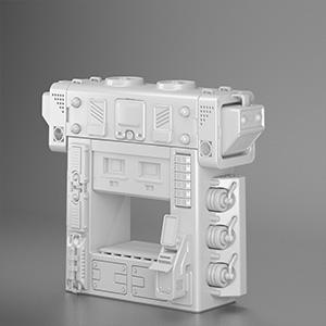 工厂机组模块设备3D模型-2102D12