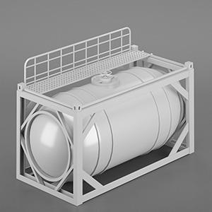 工厂罐体设备3D模型-2105D3