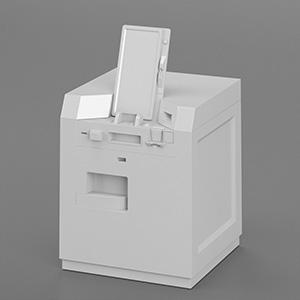 工厂操作台设备3D模型-2102D15