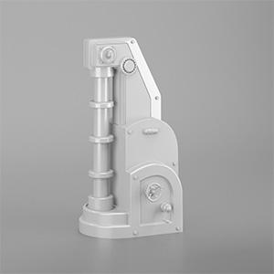 工厂机械设备配件3D模型-2105D5