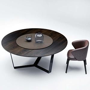 桌椅组合3D模型-0107ZY9