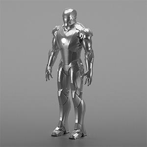 钢铁侠3D模型-0809J2