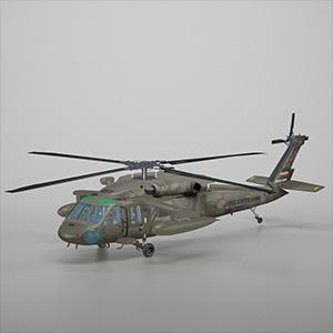 UH-60黑鹰武装直升飞机3D模型-1105JZ8