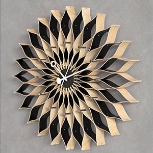 维特拉向日葵时钟3D模型-0308Z3