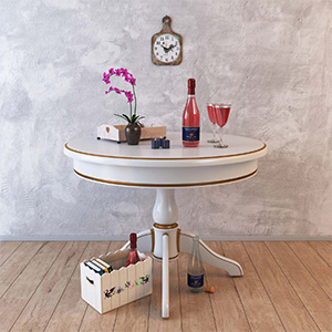 桌子摆设3D模型-0106Z13