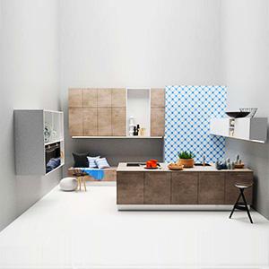 厨房组合3D模型-0107ZY13