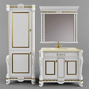 卫浴柜组合3D模型-0513W1