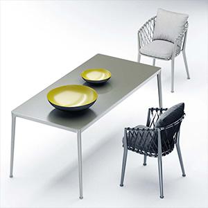 桌椅组合3D模型-0107ZY15