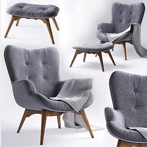休闲椅躺椅3D模型-010404Y7