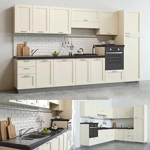 厨房组合3D模型-0412C6