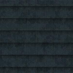 8K屋顶瓦黑色金属瓦贴图-020203W77