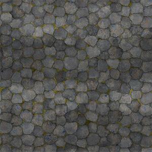 8K屋顶瓦不规则石头瓦贴图-020203W80
