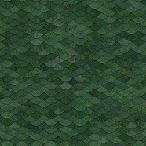 8K屋顶瓦绿色石头瓦贴图-020203W82